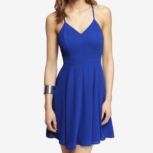 Express Royal Blue Dress